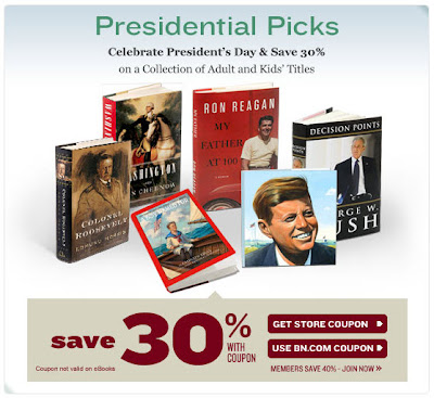 Click to view this Feb. 15 Barnes & Noble email full-sized
