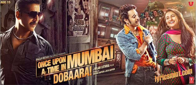 Once Upon Ay Time in Mumbai Dobara Music - Pritam