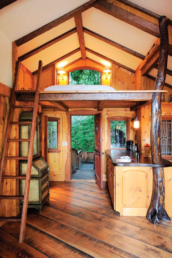 Inside a treehouse most beautiful for Pretty houses inside