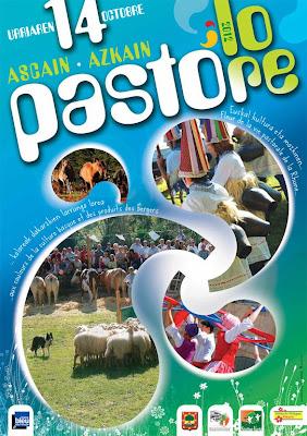 PASTORE LORE 2012 à Ascain Fête Pastorale des Villages Fleuris