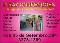 D' RAY CONFECÇÕES
