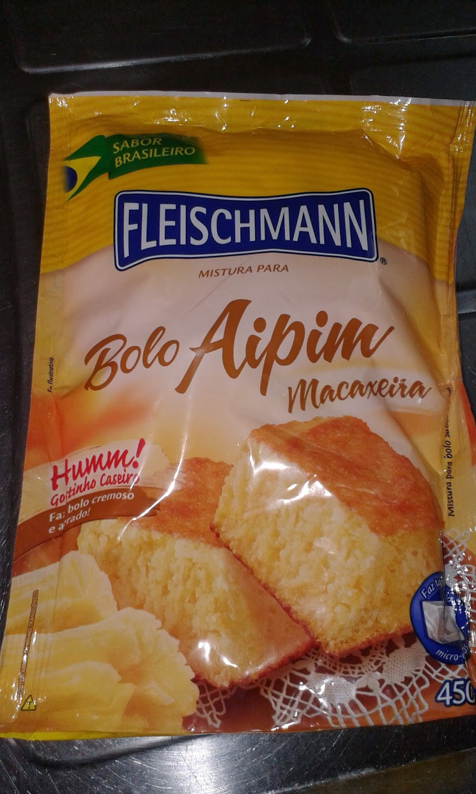 Partycake For Two Bolo De Aipim Massa Pronta Fleischman