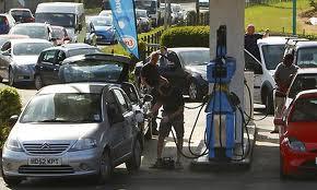 doomsday fuel buying panic