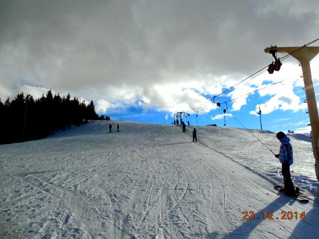 ski pe zi la Straja