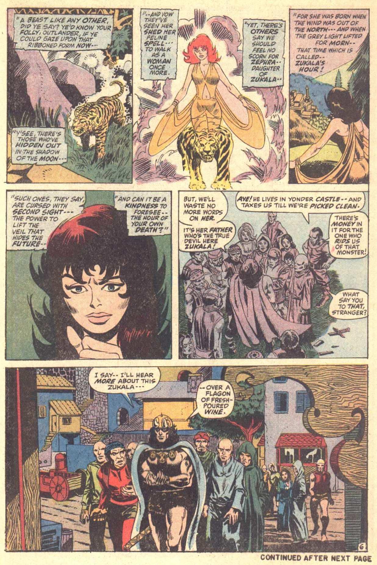 Conan the Barbarian (1970) Issue #5 #17 - English 7