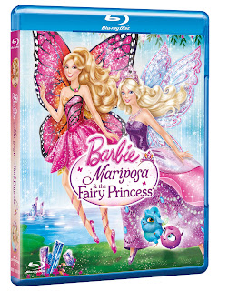 Barbie Mariposa And The Fairy Princess Packshot - #Review #Competition