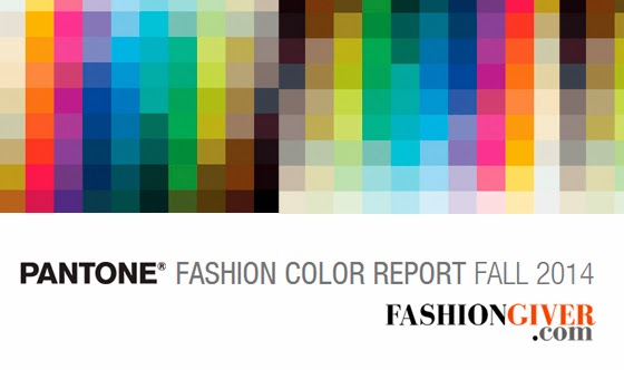 Pantone 2014 Fall Winter Colors Otoño Invierno Pantone Colores