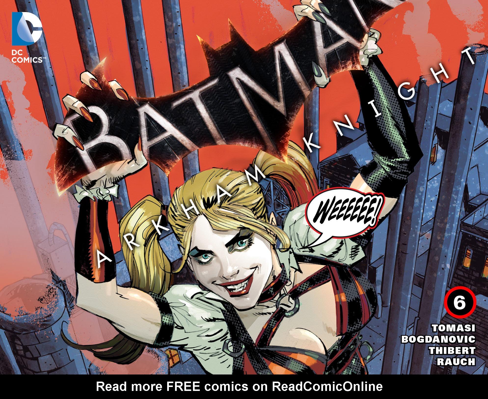 Batman: Arkham Knight [I] Issue #6 #8 - English 1