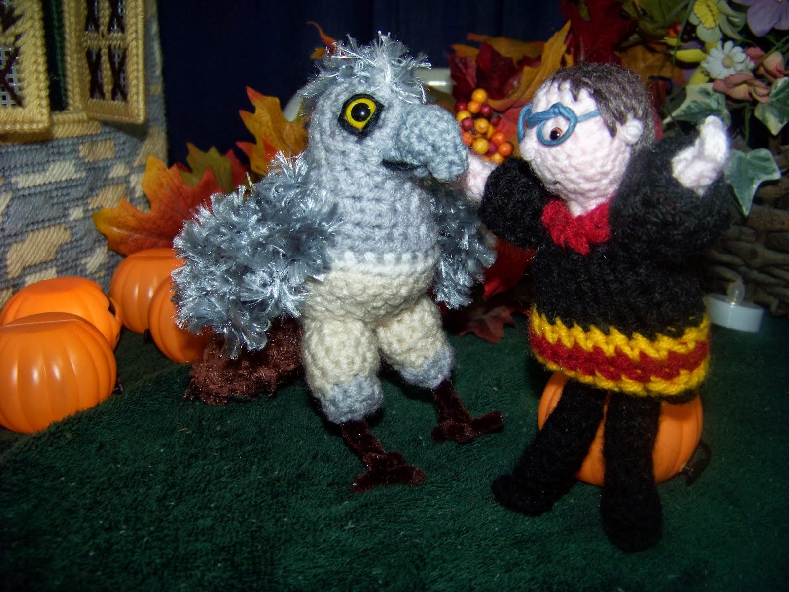 Crafty Kat: Baby Hippogriff crochet