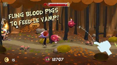 iPhone Apps, iPhone Free Games, iPad Apps, iPad Games, Arcade Games, Vampire Games, 5.1 iOS Games, Download Free Le Vamp Game, Le Vamp Mobile Game, 2013 Mobile Games,