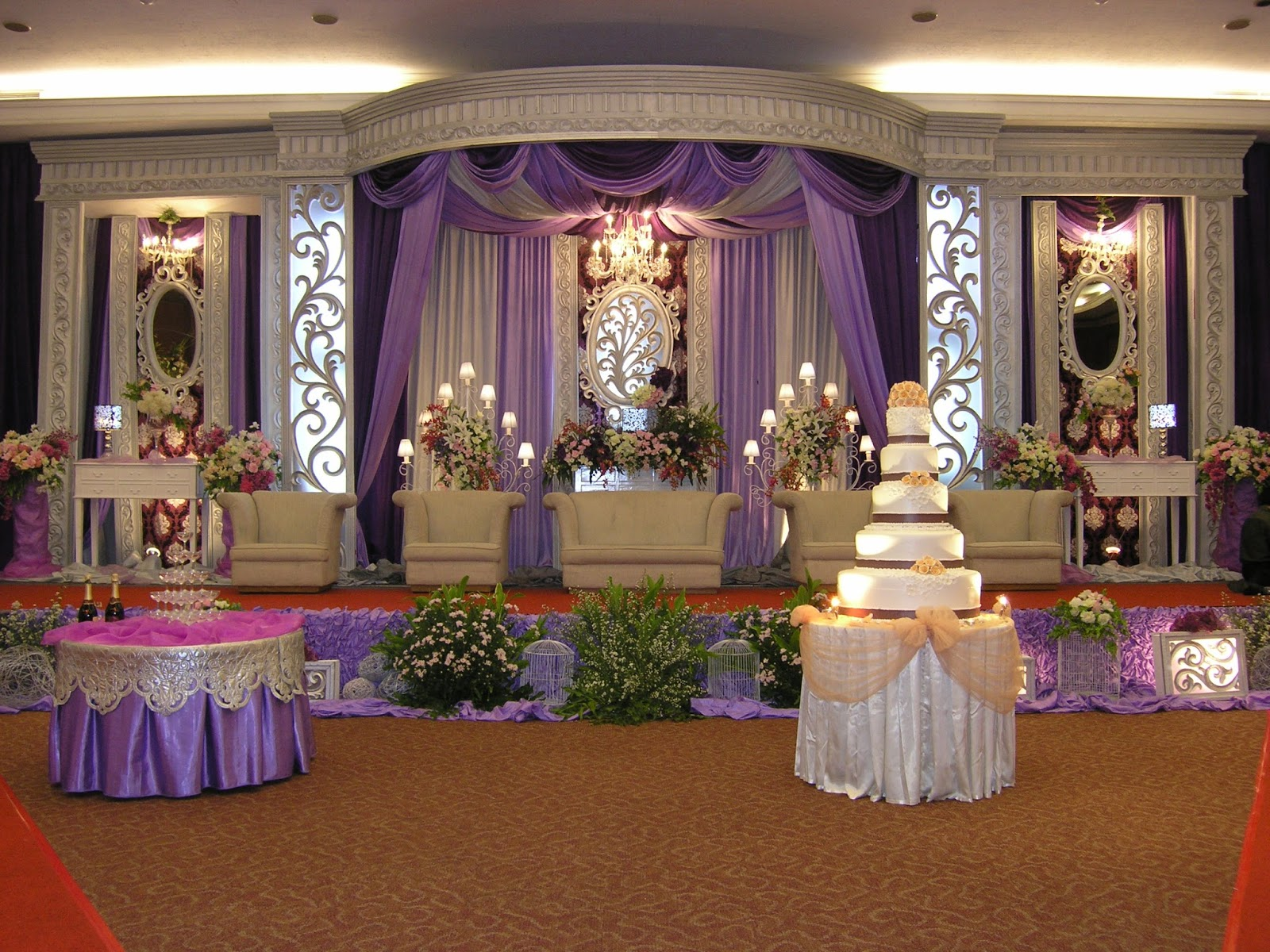 Contoh Dekorasi Pernikahan Muslimah Terbaik 2017