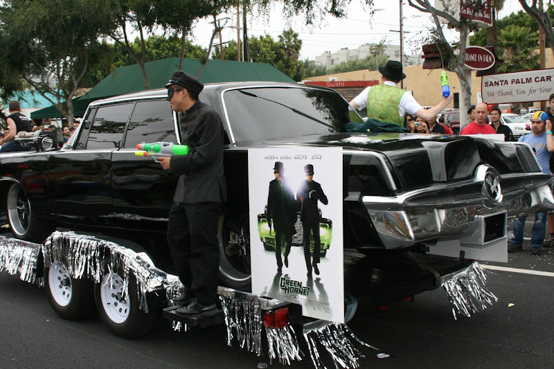 Black Beauty Green Hornet movie car