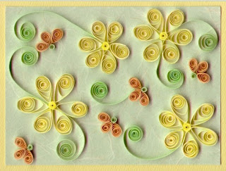 Idéias de flores de quilling (papel)