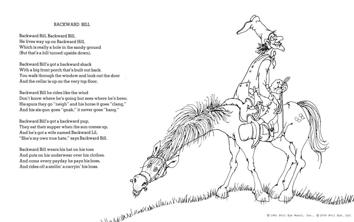 Shel Silverstein Poem Books