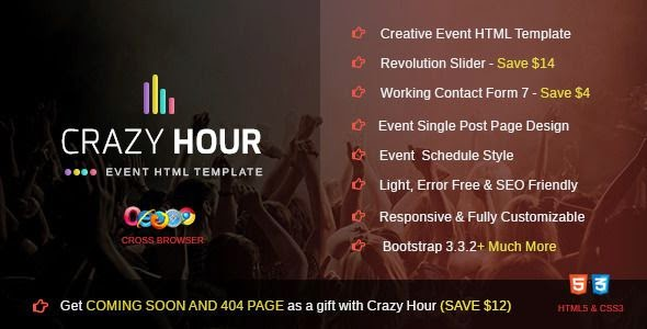 Premium Event Management HTML Template