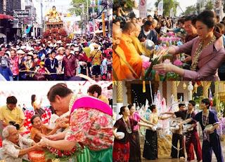 Lanna Crafts - Pee Mai Muang festival
