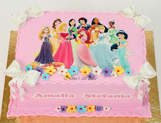 "Tort ""Printese"" pentru Amalia"