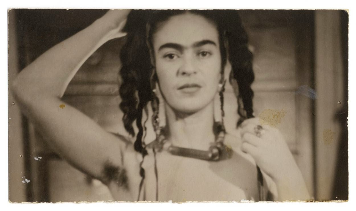 Vintage Paintings Of Women Frida Kahlo by Julien Levy