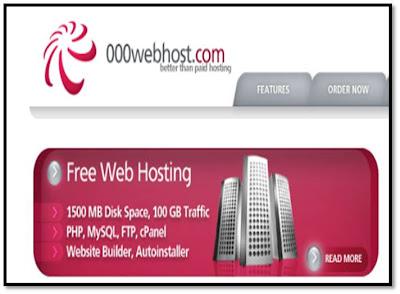 Cara Daftar Webhosting di 00Webhost