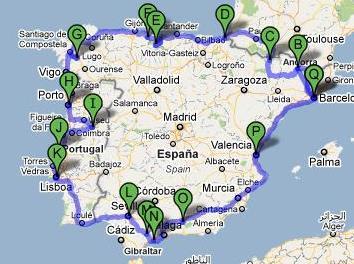 Sentido do Vento  Roteiro Portugal-Espanha - 2010 88b3ed94a3845
