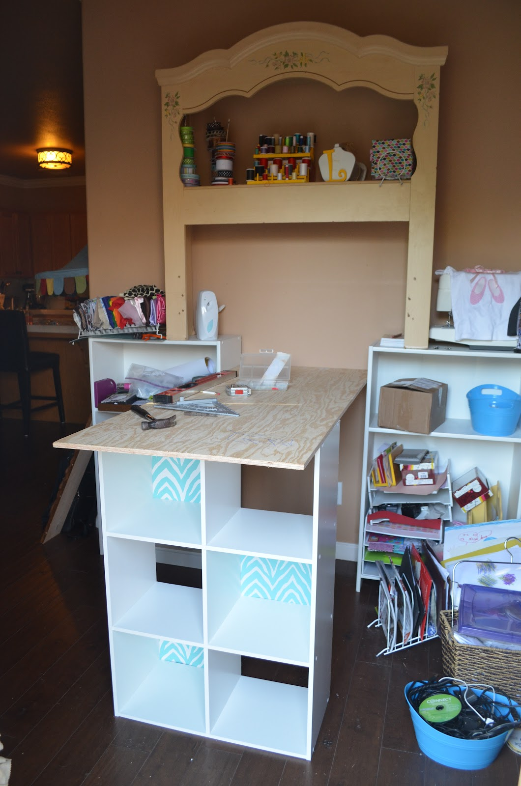 & My New Craft Space Progress |