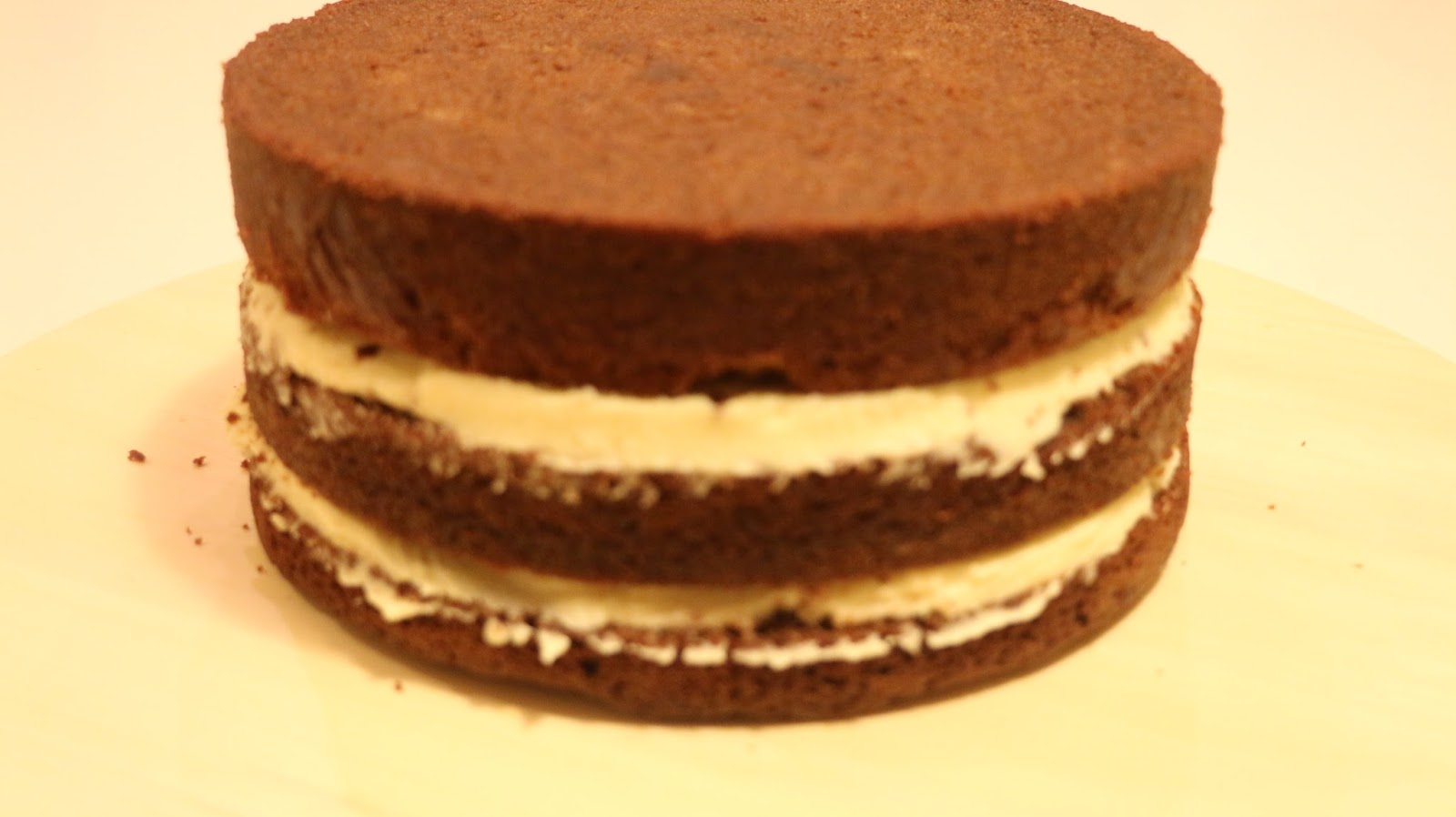 Recette De Garniture Cake Design : Nebouladelice: Cake chocolat pour Cake design