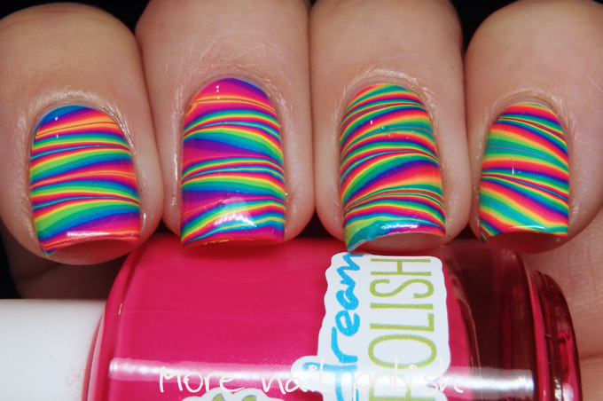 Pipedream polish ANIVC water marble ~ More Nail Polish