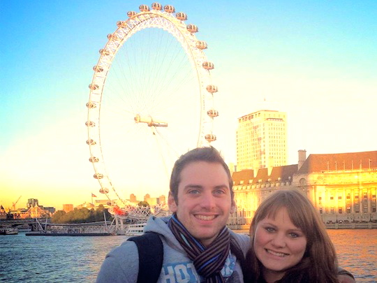 Thaly & Nick London Eye