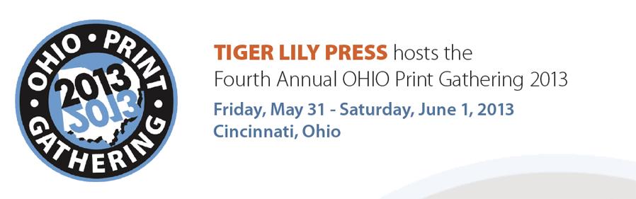 Ohio Print Gathering 2013