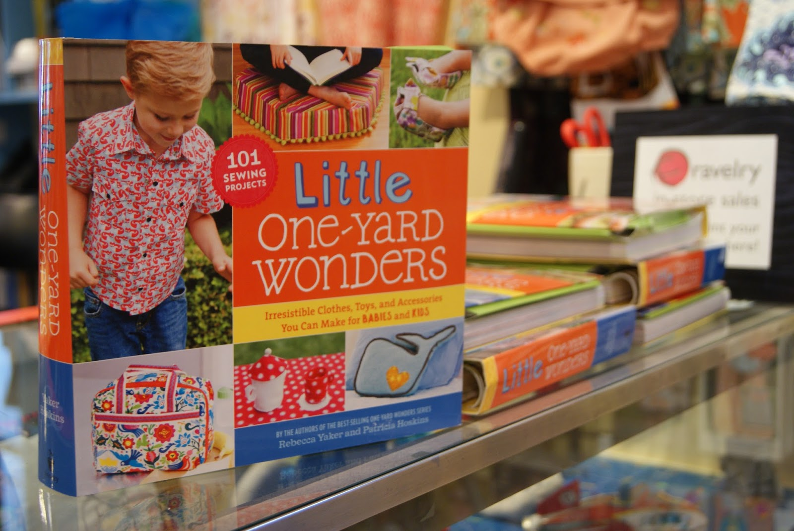 Little One-Yard Wonders book release party