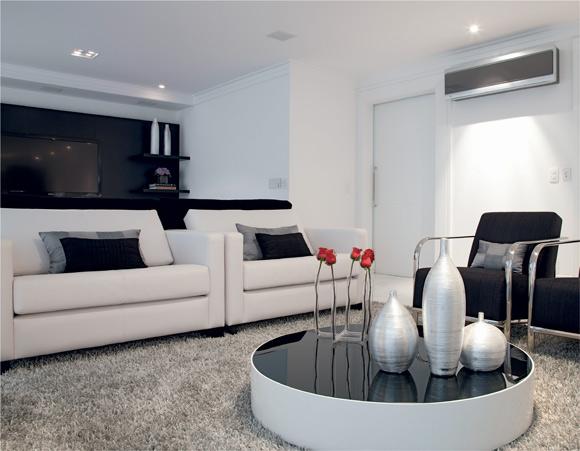 Sala De Jantar Branca E Preta ~ Preto e Branco  Combinação clássica, só que agora toda moderna