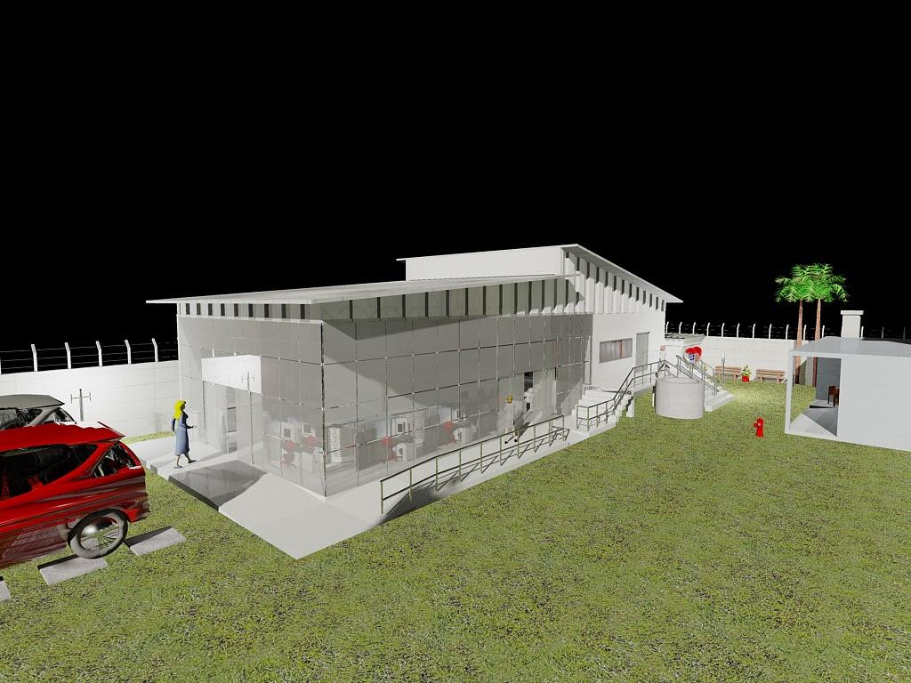 Vertical Projetos ®: Render 3D #B50908 1024 768