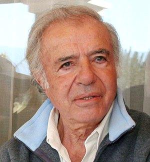 Carlos Menem en la vejez