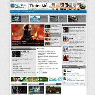 free blogspot template