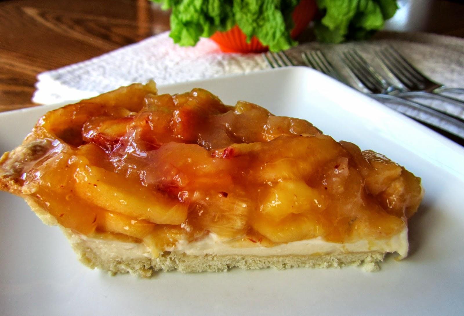 Mennonite Girls Can Cook: Peach Cream Cheese Pie