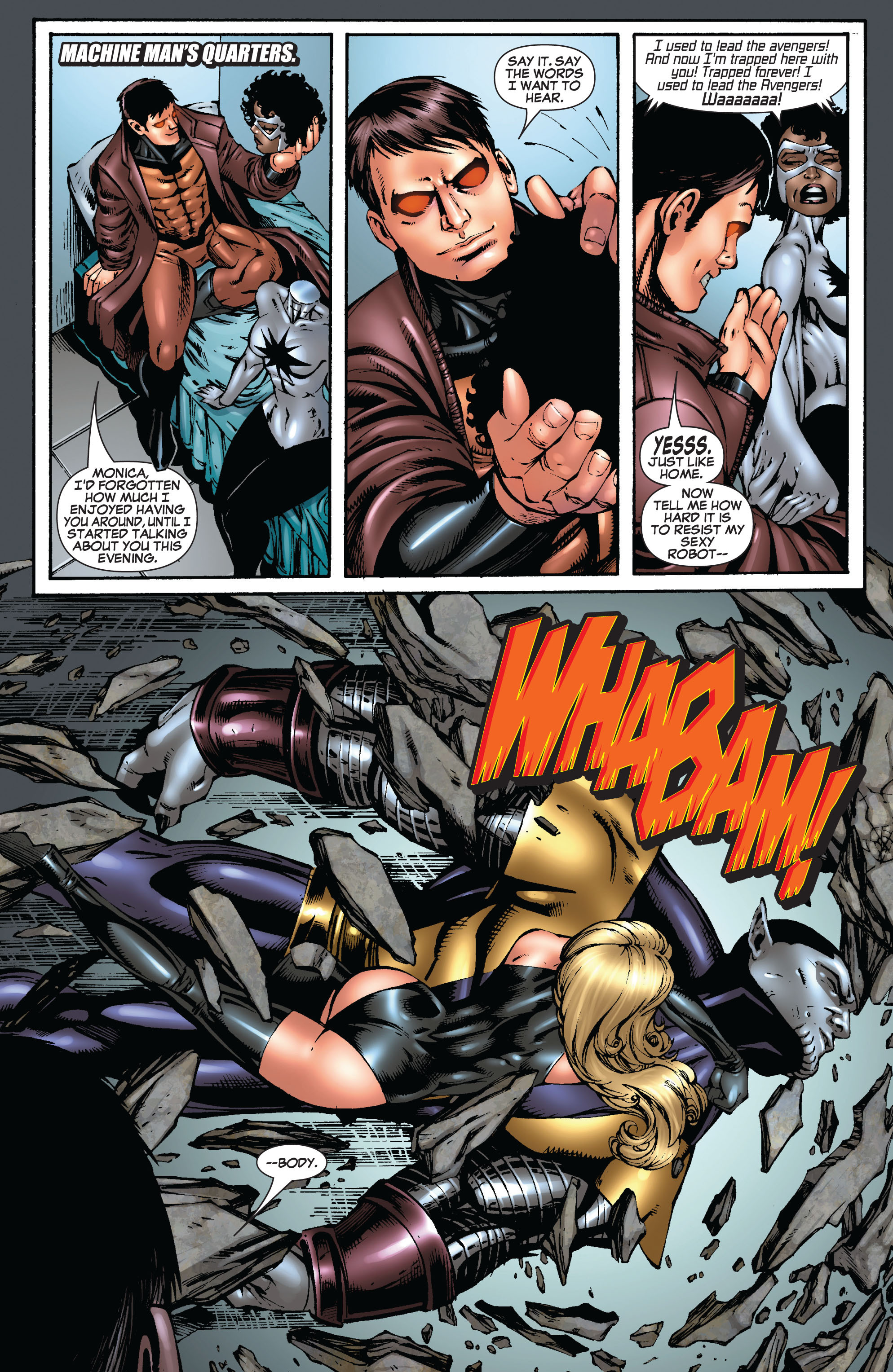 Read online Secret Invasion: The Infiltration comic -  Issue #9 - 20