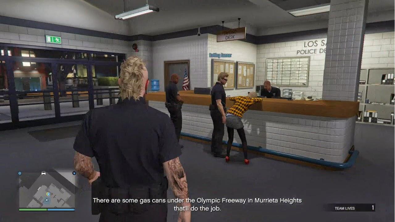 GTA V Online Police Department Heist