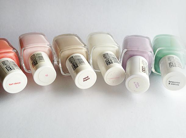 essie nail polish swatches