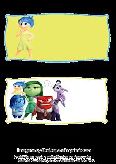 Etiquetas personajes del reves para imprimir
