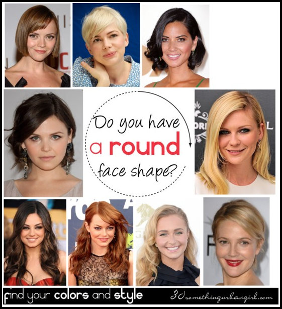 Do you have a round face shape? ~ 30 something Urban Girl