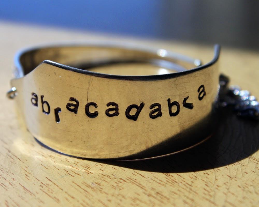 abracadabra butter knife bracelet