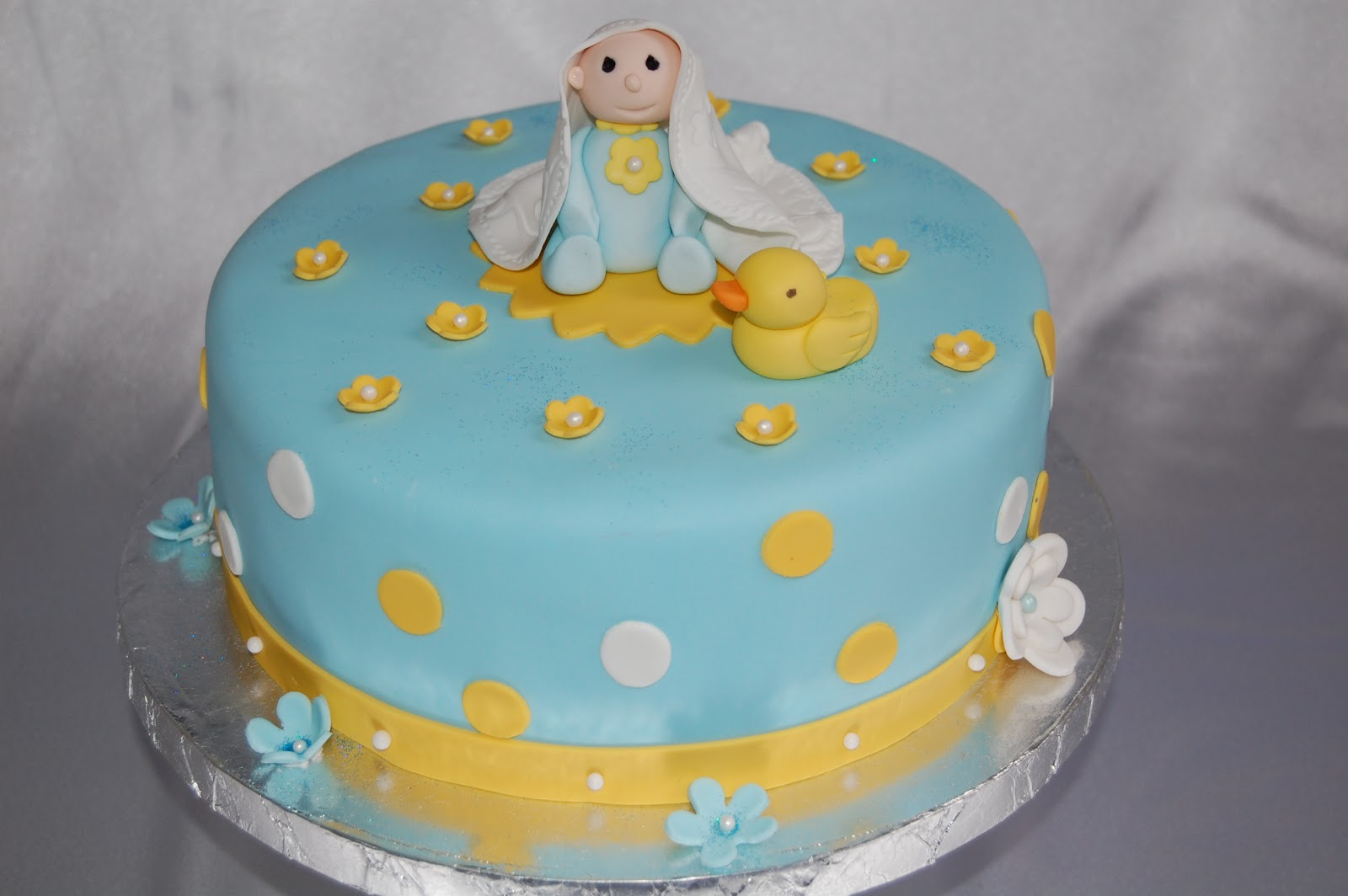 Customised cakes by jen duck for Baby boy cake decoration