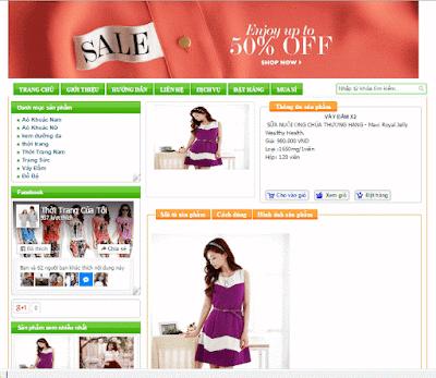 Chia sẻ 2 template blogspot bán hàng miễn phí tuyệt đẹp