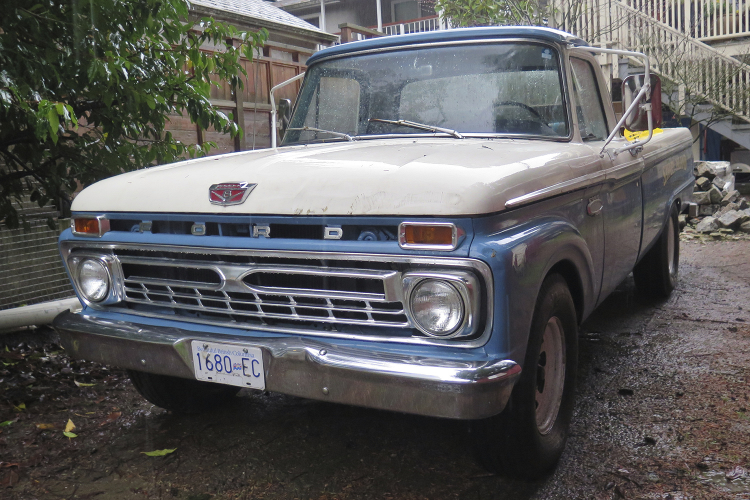 Old Parked Cars Vancouver Promotional Vehicle 1964 Ford F 250 Camper Special 1965