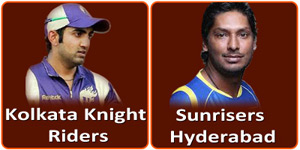 KKR Vs SH IPL match is on 14 April 2013