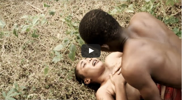 Hot sex in the bush