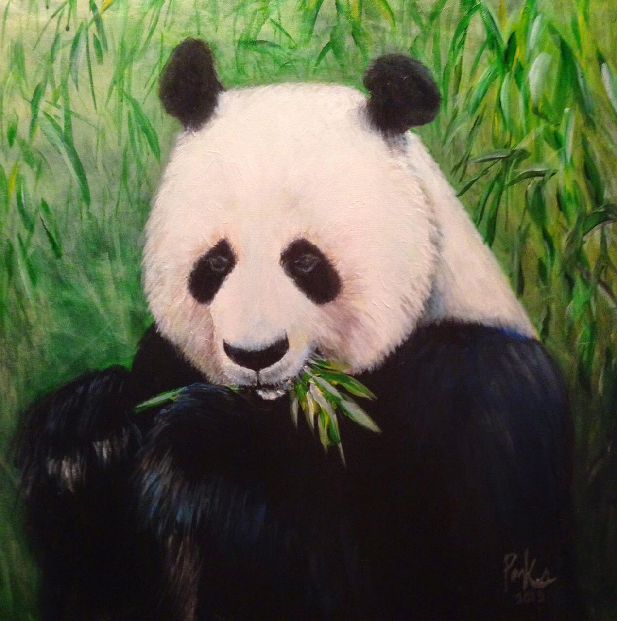 Panda n Bamboo