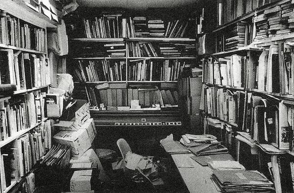 Author W.G.Sebald's Writing Room