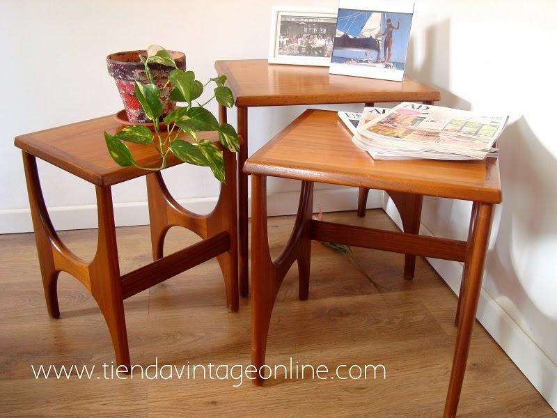 Mesitas nido escandinavas y muebles estilo danés en valencia