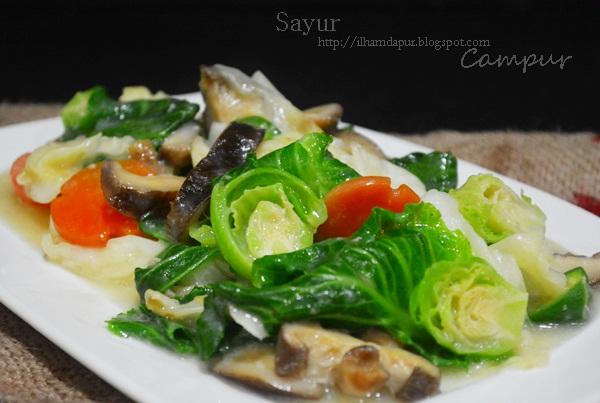 Ilham Dapur Sayur Campur Chinese Style